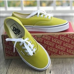 NWT VANS Authentic Cress Green Mens AUTHENTIC